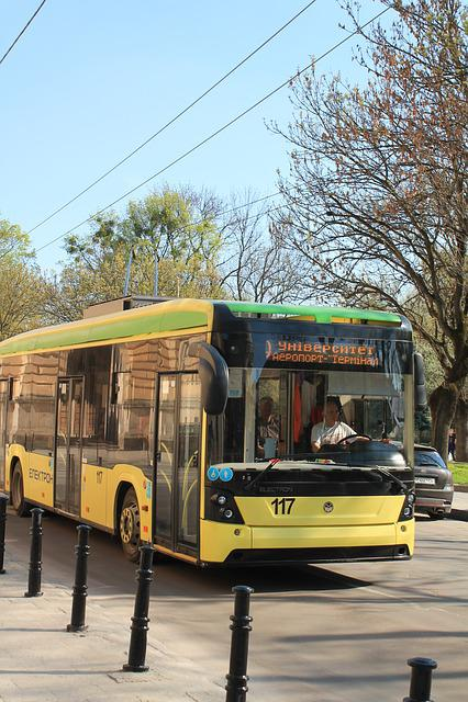 Trolleybus, Ukraine, Lviv, City, Means Of Transport