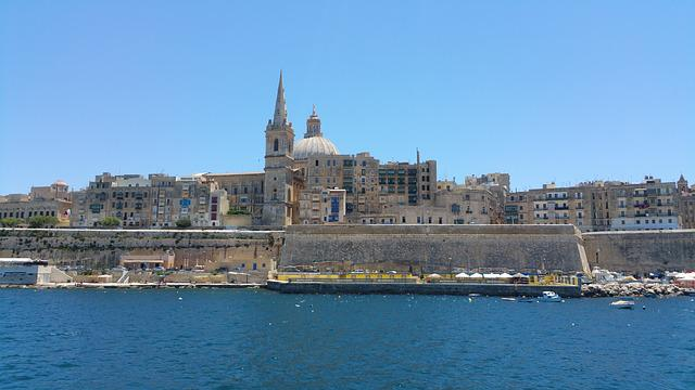 Malta, Valletta, City, Mediterranean, Capital, Island