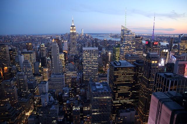 New York, City, Skyscraper, United States, Buildings