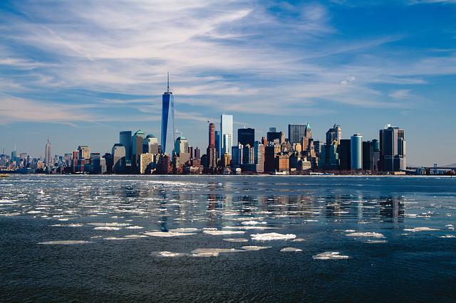 New York, Skyline, New York City, City, Manhattan