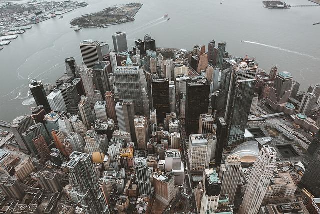 Skyline, Skyscraper, Building, New York, City