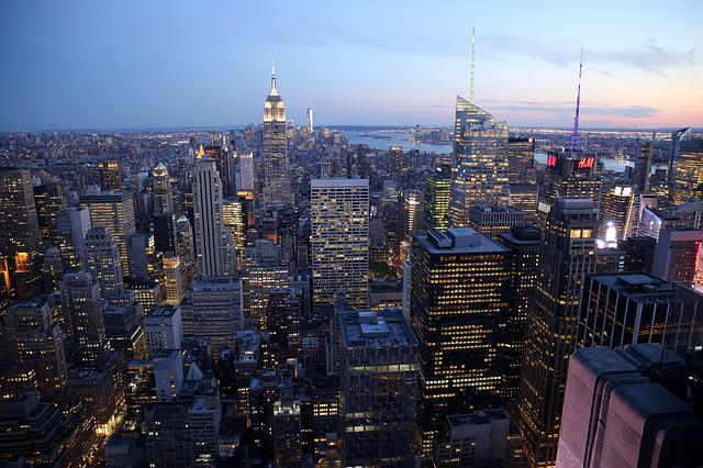 New York, City, Skyscraper, United States, Buildings