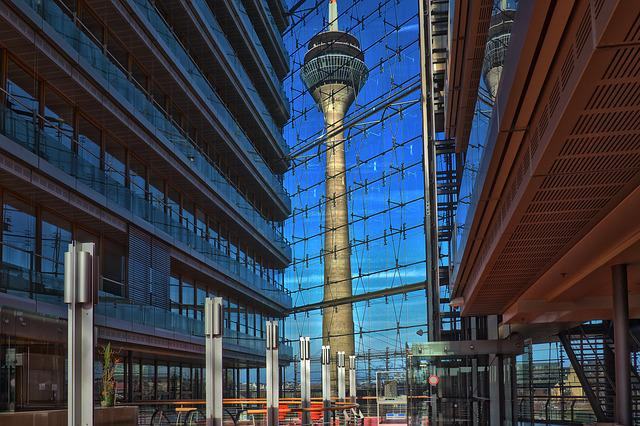 Architecture, Building, Modern, City, Glass, Office