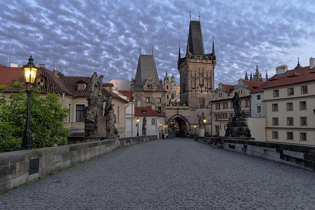 Prague, Charles Bridge, City, Old Town, Bridge