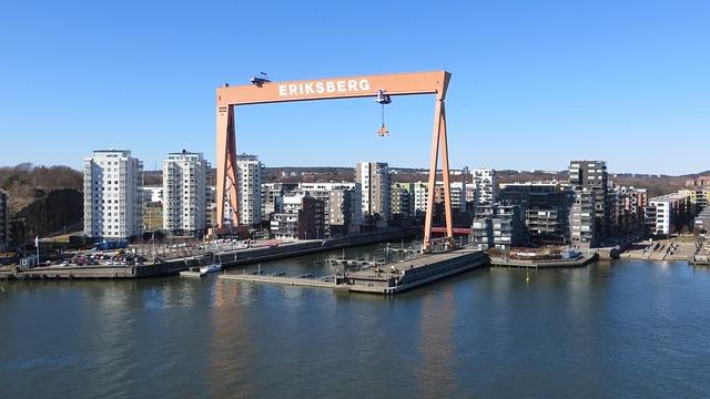 Gothenburg, Erik Berg, Waters, Panorama, City, River