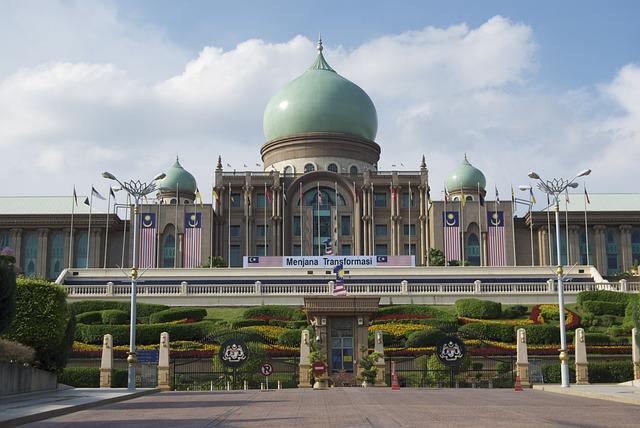 Perdana Putre, Putra Jaya, Malaysia, Building, City