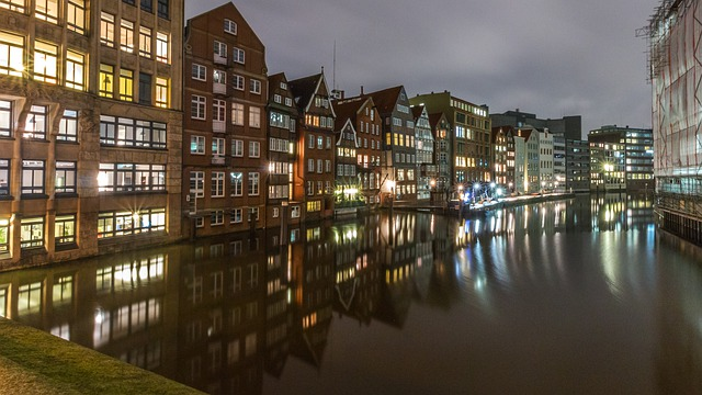 Reflection, Waters, City, Architecture, Travel