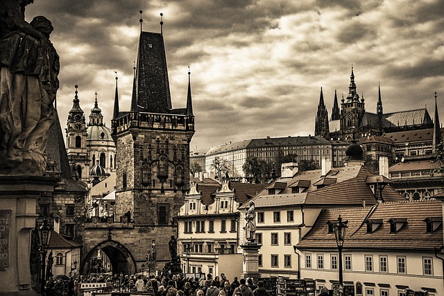 City, Homes, Roofs, Building, Old Town, Dom, Prague