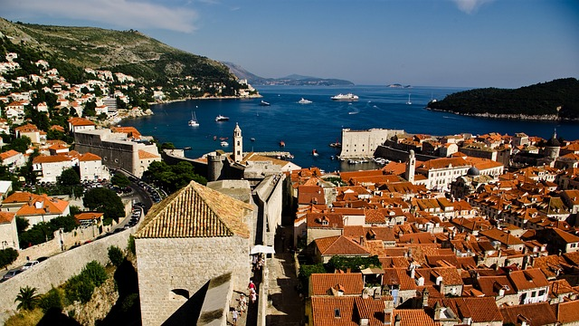 Dubrovnik, Roofs, Walls, Old City, Sea, City