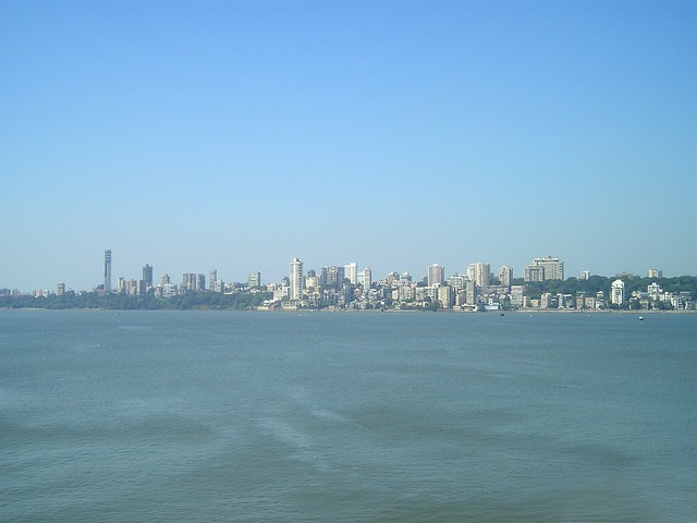 India, Mumbai, Bombay, City, Skyline