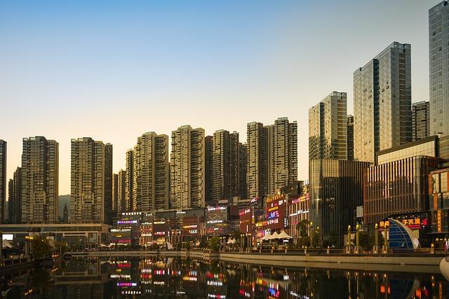 City, Skyscraper, High Rise Buildings, City Centre