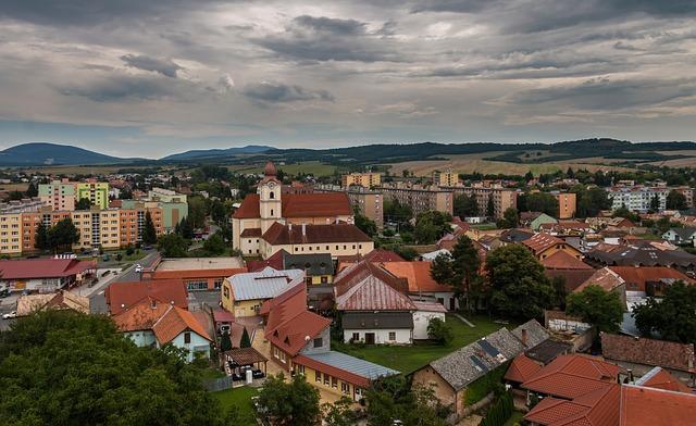 Fiľakovo, City, Slovakia, Church, Settlement