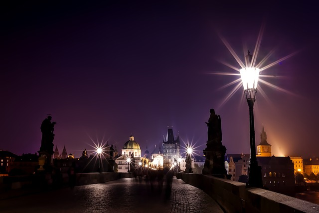Prague, Czech Republic, City, Urban, Statues, Monuments