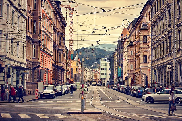 Innsbruck, Austria, City, Architecture, City Street