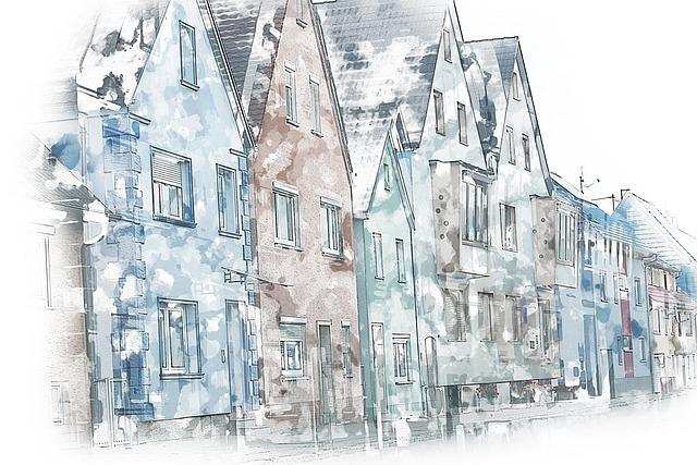 Street, House, Houses, Dwelling House, City