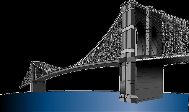 Brooklyn Bridge, Suspension Bridge, New York, City