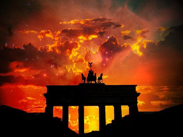 Brandenburger Tor, Berlin, Germany, City, Symbol