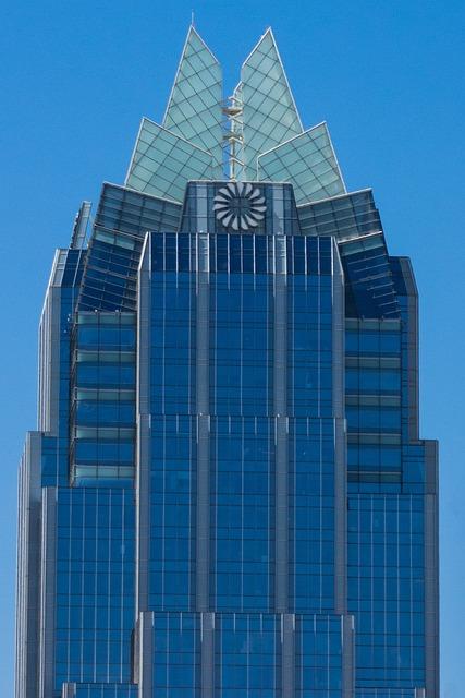 Austin, Frost Tower, City, Texas, Tower, Skyline