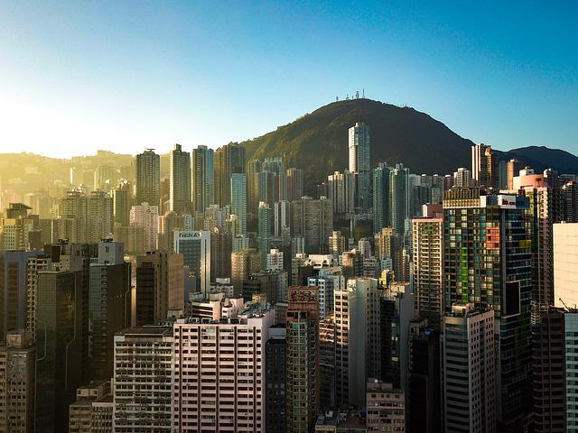 The Skyscraper, City, Silhouette Against The Sky