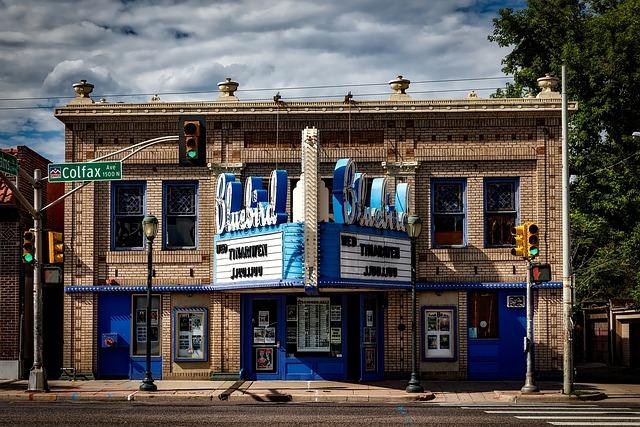 Denver, Colorado, City, Bluebird Theatre, Theater