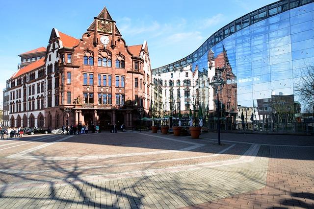 Architecture, City, Dortmund, Ruhr Area, Town Home