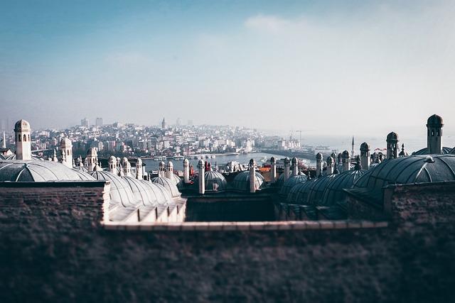 City, Architecture, Travel, Istanbul, Turkey, Sky