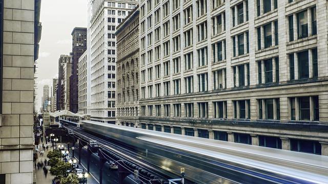 Downtown, Chicago, Architecture, Urban, Illinois, City