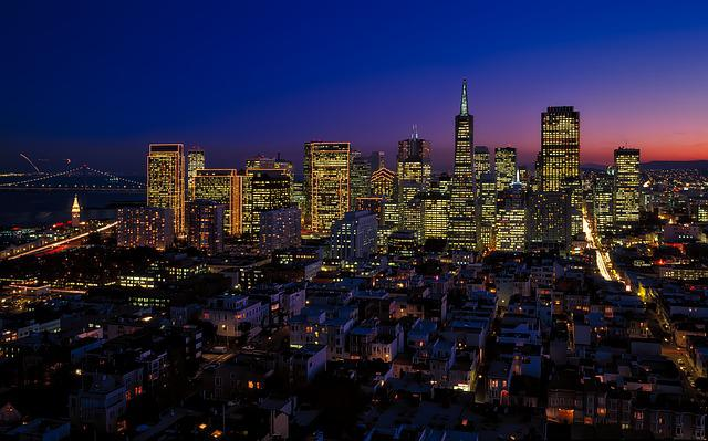 San Francisco, California, City, Urban, Cityscape