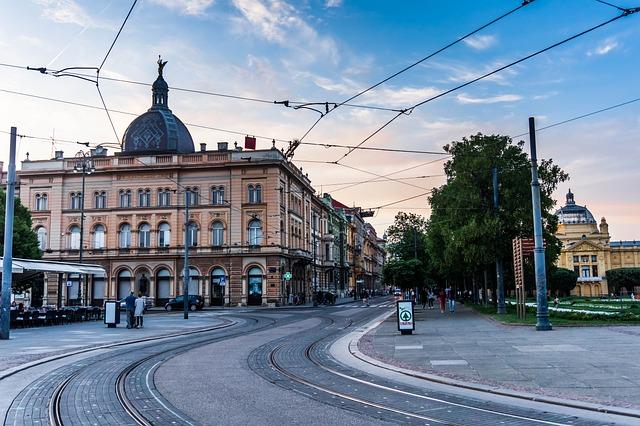 City, Tram, Urban