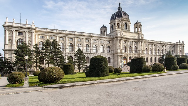 Vienna, Downtown, Museumsquartier, Architecture, City