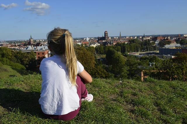 Gdańsk, City, Vistas, Townhouses, Old Town