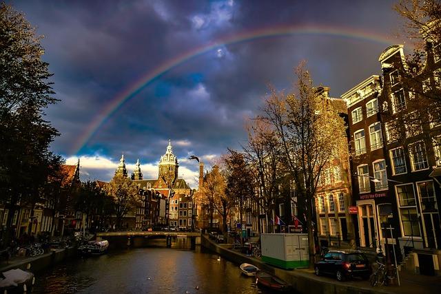 Amsterdamcity, Architecture, Cityscape, Travel