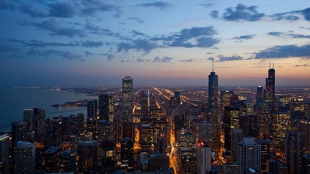 Buildings, City, Cityscape, Dawn, Downtown, Dusk