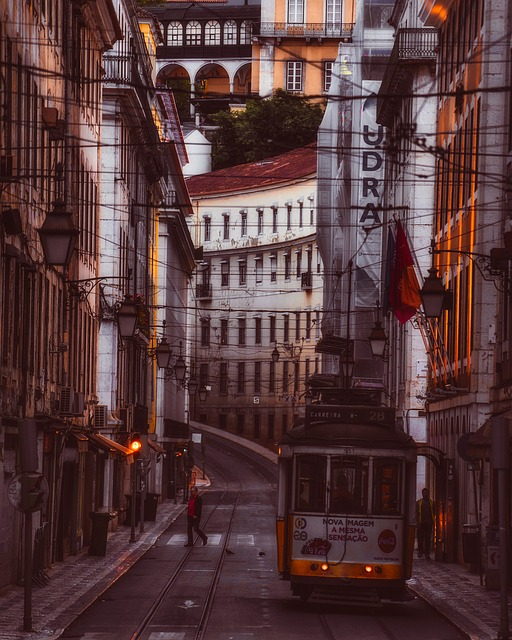 Lisbon, Portugal, Lights, City, Urban, Cityscape