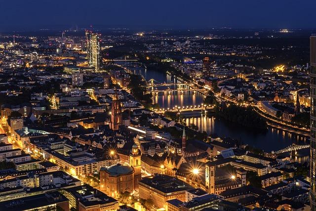 City, Frankfurt, Cityscape, Skyscraper, Skyscrapers