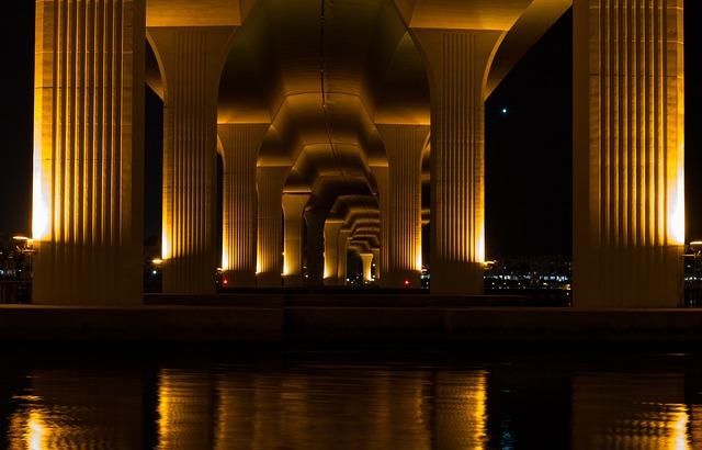 Bridge, Architecture, City, Urban, Travel, Cityscape