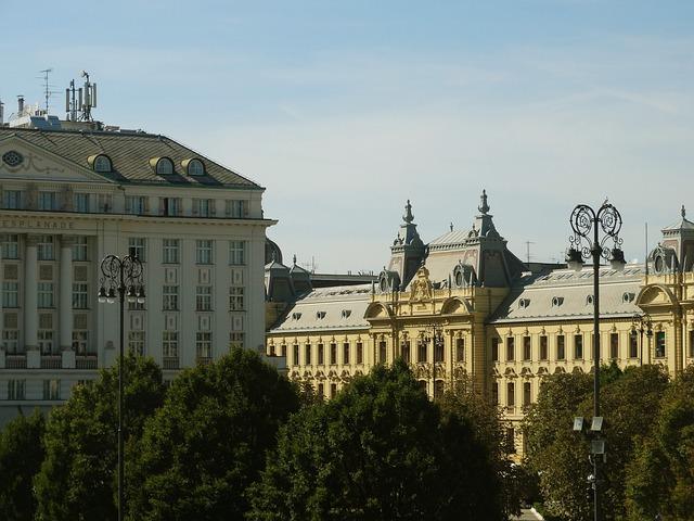 Croatia, Zagreb, Cityscape