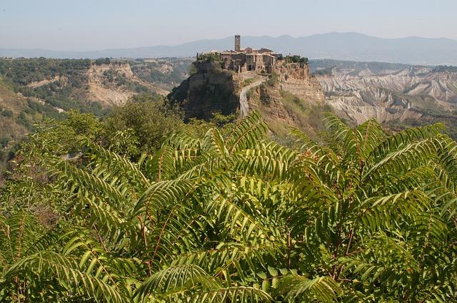 Civita Di Bagnoregio, Landscape, Country