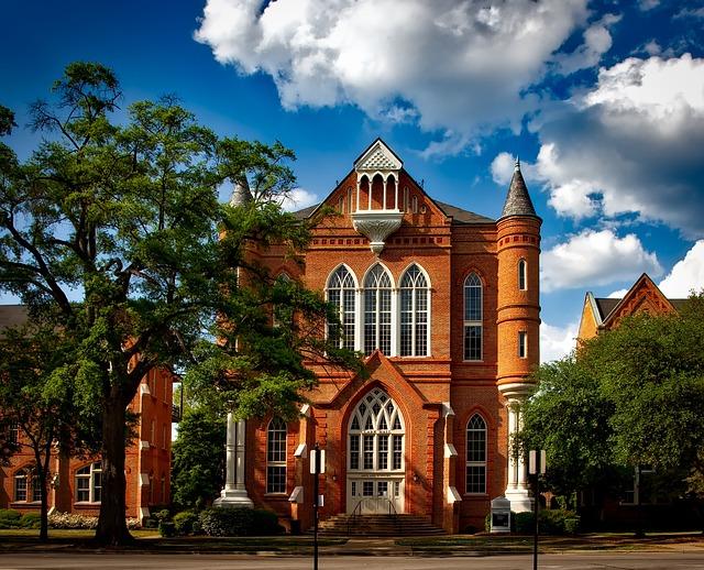 University Of Alabama, Tuscaloosa, Clark Hall