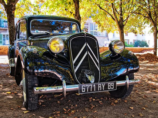 Age, Citroen, Auto, France, Old, Oldtimer, Classic