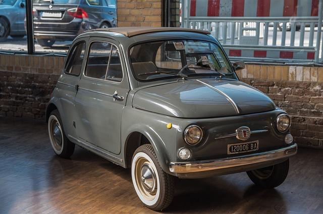 Fiat, 500, Cinquecento, Auto, Vehicle, Classic, Pkw