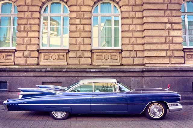 Auto, Cadillac, Old, Usa, America, Oldtimer, Classic