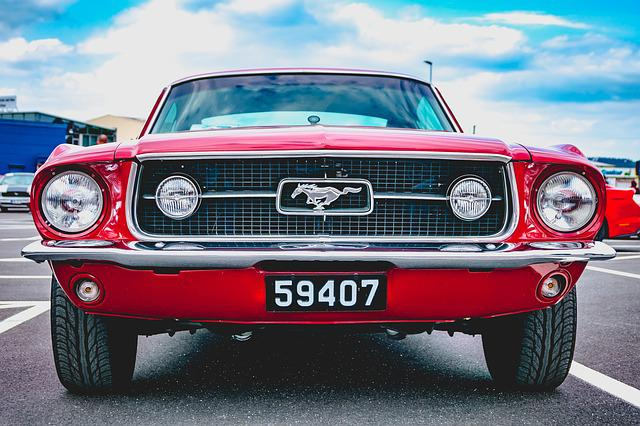 Auto, Vehicle, Oldtimer, Mustang, Classic, Automotive