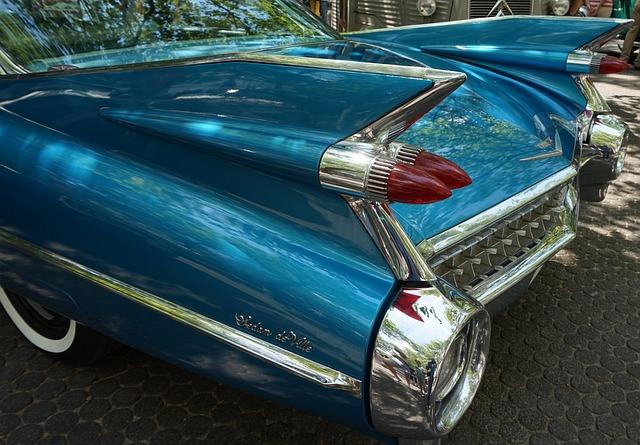 Auto, Vehicle, Chrome, Shiny, Classic, Brake Lights
