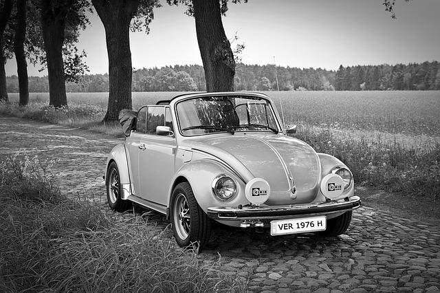 Oldtimer, Vw, Vw Beetle, Convertible, Classic