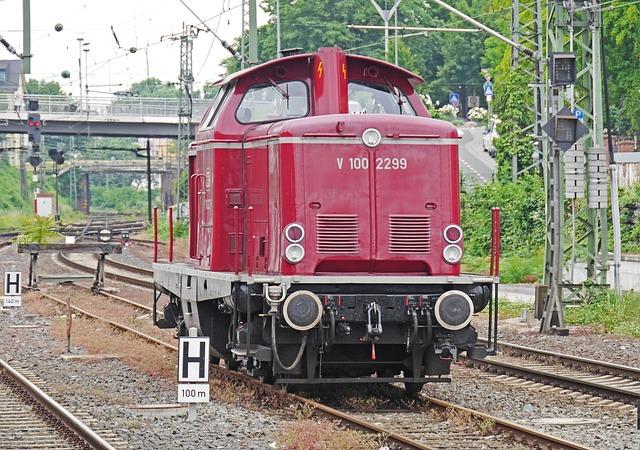 Diesel Locomotive, Classic, V100, V 100, Db