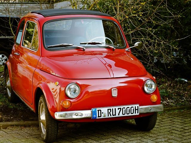 Auto, Fiat, Fiat 500, Classic, Oldtimer, Cinquecento
