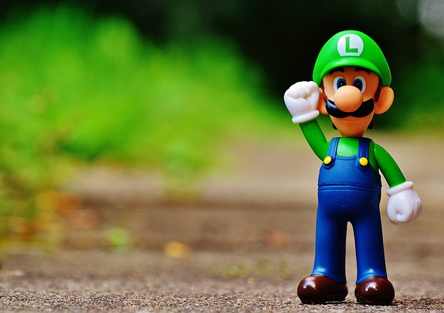 Free photo Colorful Figures Cute Funny Luigi Yoschi ...