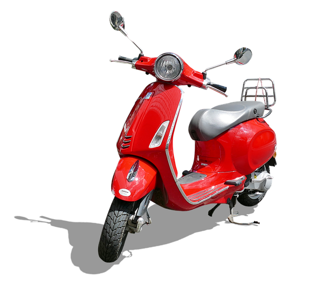 Vespa, Motor Scooter, Moped, Vehicle, Cult, Classic