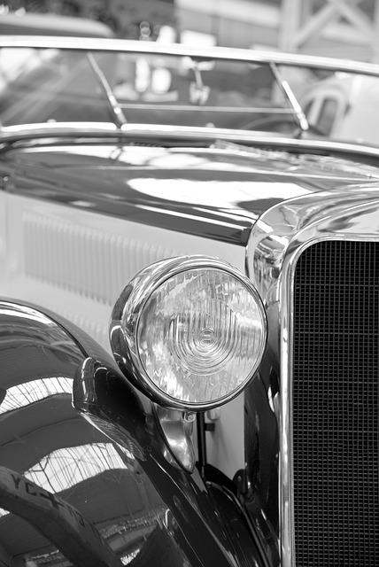 Spotlight, Oldtimer, Auto, Automotive, Classic, Old